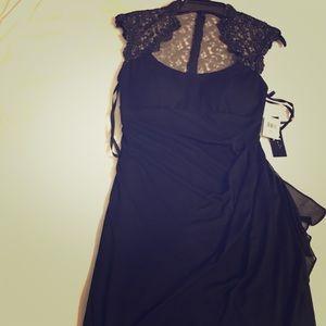 Dresses & Skirts - Xscape black illusion back Cocktail/dinner dress